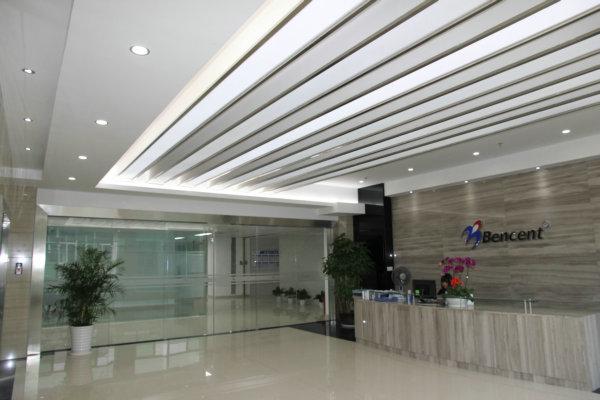 办公室装修效果图 写字楼装修设计案例 槟城电子装饰效果图